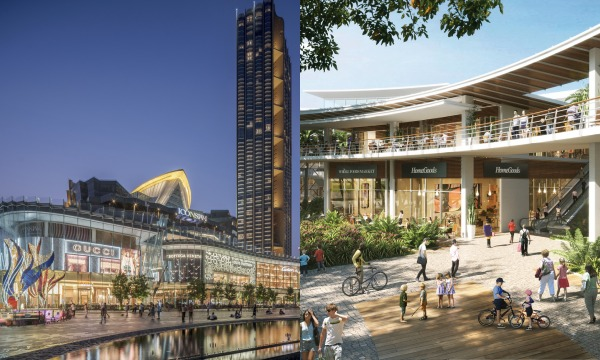ICONSIAM in Bangkok, Thailand; Mimosa Filinvest Lifemalls in Clark City, Philippines